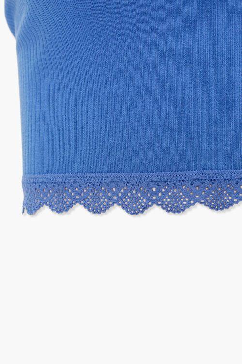Ribbed Crochet-Trim Tube Top, image 4