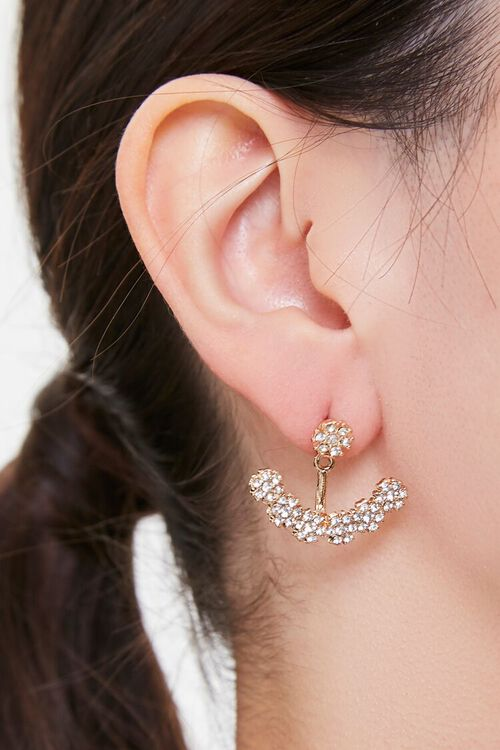 Rhinestone Ear Jackets, image 1