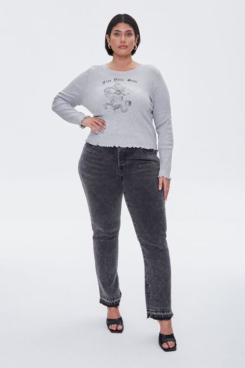 Plus Size Free Your Soul Top, image 4