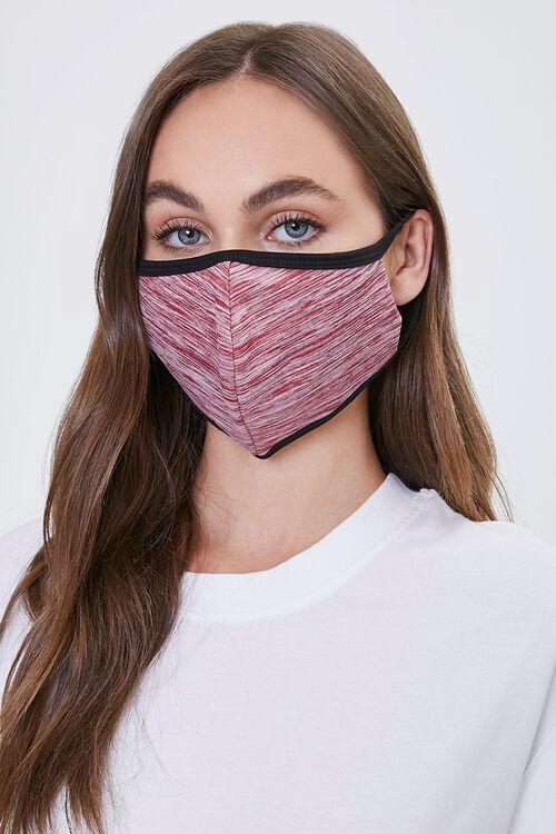 Heathered Face Mask, image 1