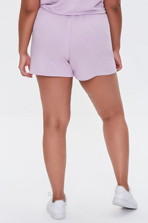 Plus Size French Terry Shorts, image 4