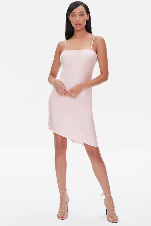 Satin Cami Slip Dress, image 4