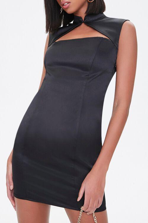Satin Mini Dress, image 5
