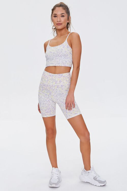 Active Floral Cropped Cami, image 4