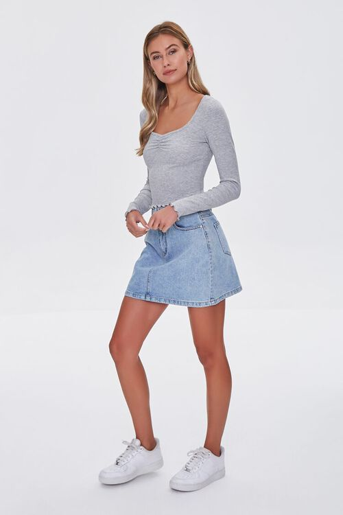 Lettuce-Edge Ribbed Top, image 4