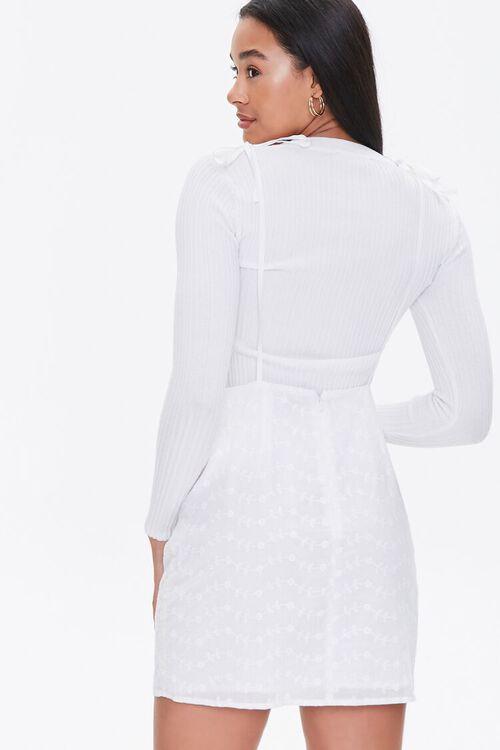 Eyelet Pinafore Dress, image 3