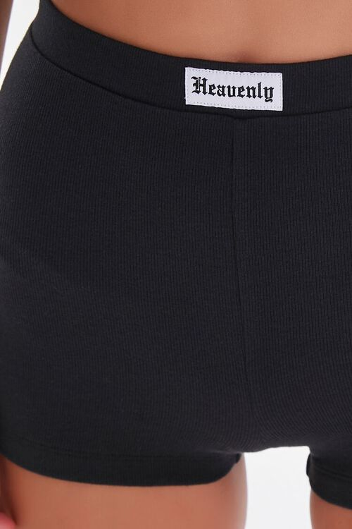 High-Rise Knit Shorts, image 6