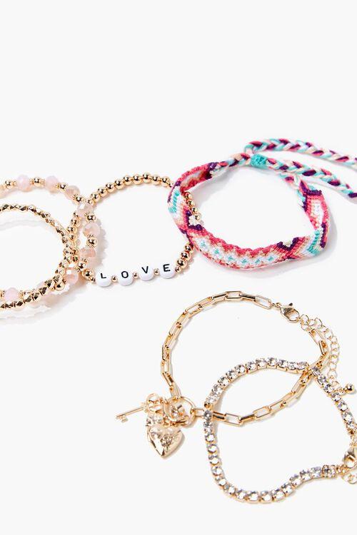 GOLD/MULTI Variety Bracelet Set, image 2