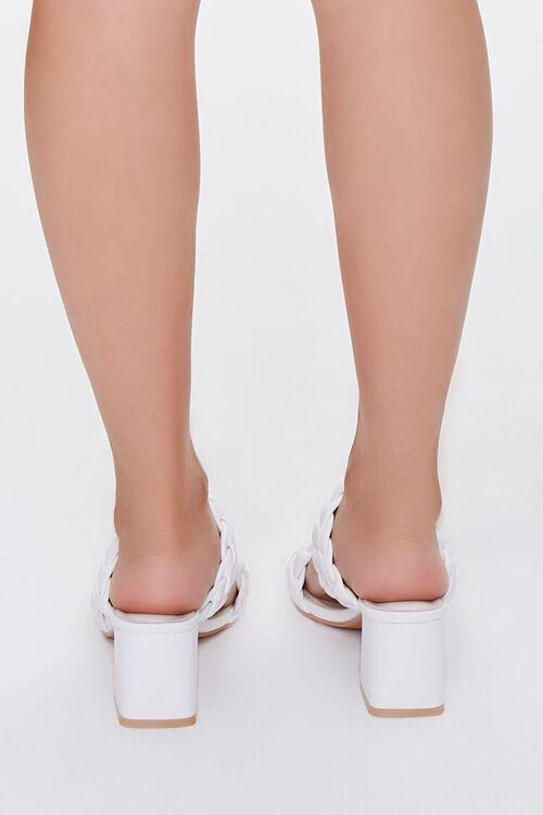 Braided Square-Toe Block Heels, image 3
