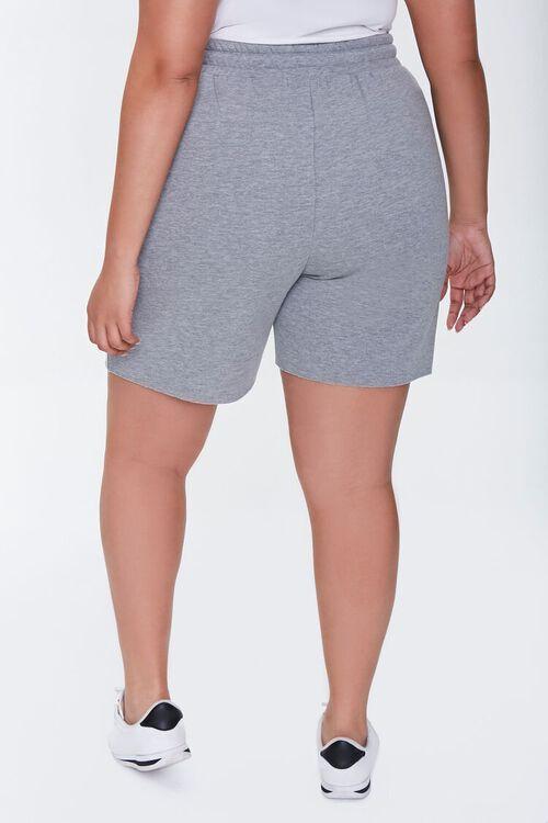 Plus Size Fleece Sweatshorts, image 4