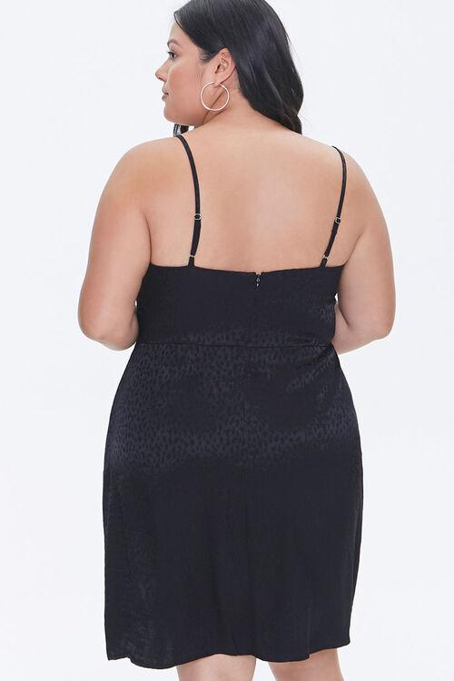 Plus Size Jacquard Cami Dress, image 3