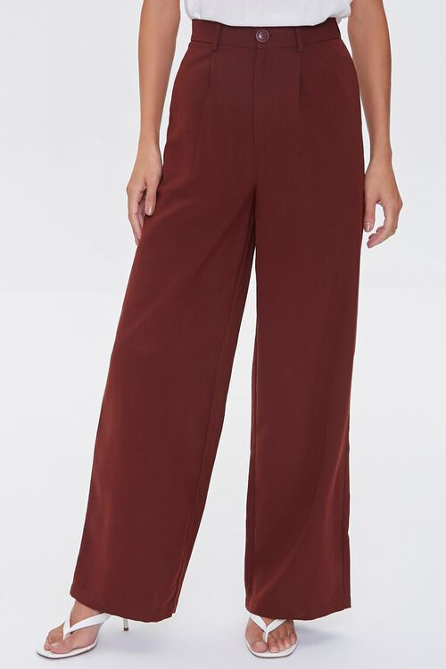 Wide-Leg High-Rise Pants, image 2