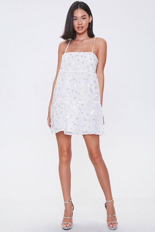 Chiffon Polka Dot Dress, image 4