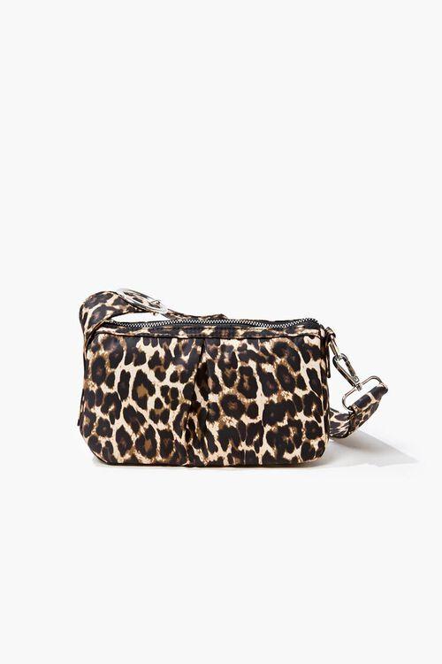 Leopard Print Shoulder Bag, image 1