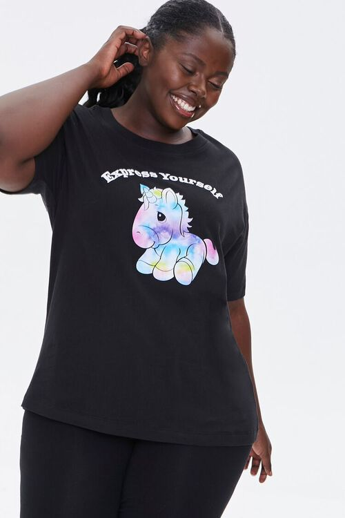 Plus Size Express Yourself Tee, image 1