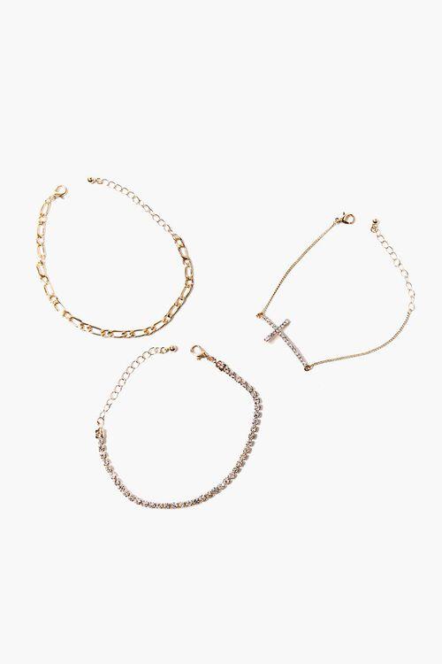 Cross Charm Bracelet Set, image 2