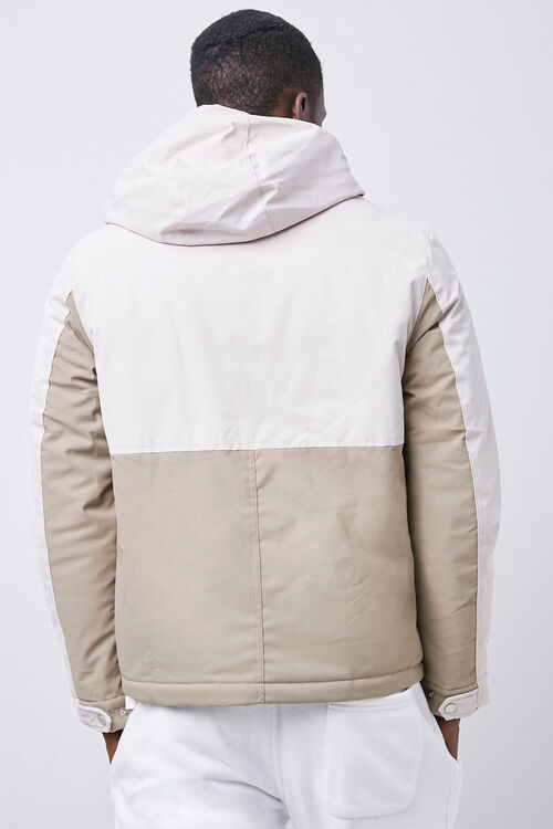 Colorblock Zip-Up Hooded Jacket, image 3