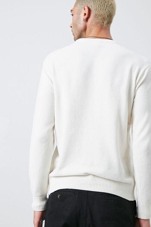 Chenille Crew Neck Sweater, image 3