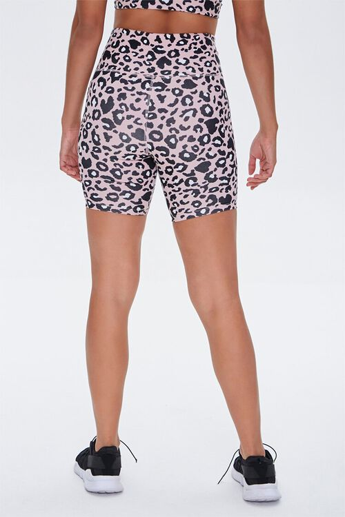 Active Leopard Print Biker Shorts, image 4