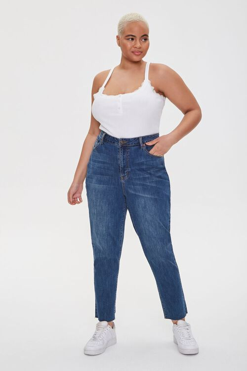 Plus Size Lace-Trim Cami, image 4