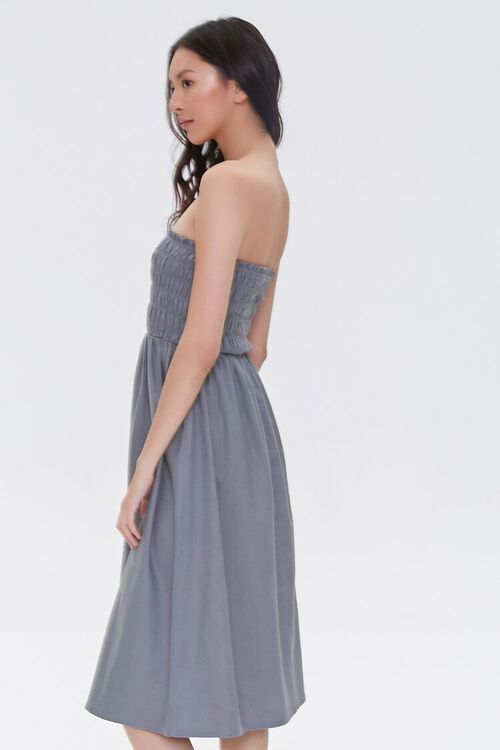 Smocked Strapless Dress, image 2