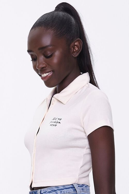 Not My Problem Polo Shirt, image 2