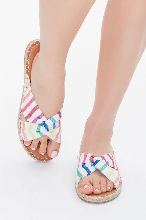 Rainbow Striped Sandals, image 4