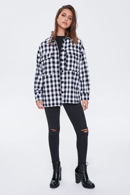 Checkered Flap-Pocket Jacket, image 4
