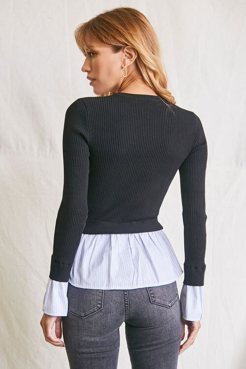 Ribbed Combo Sweater, image 3