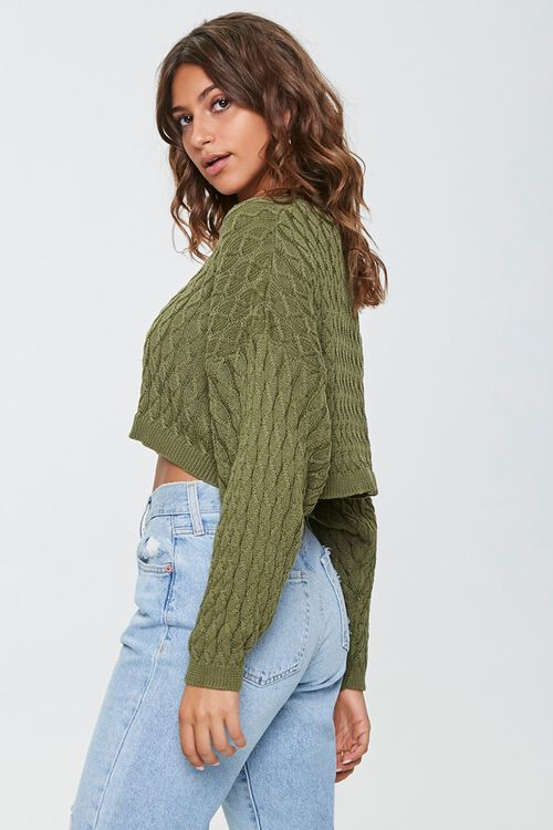 Textured Batwing-Sleeve Sweater, image 2