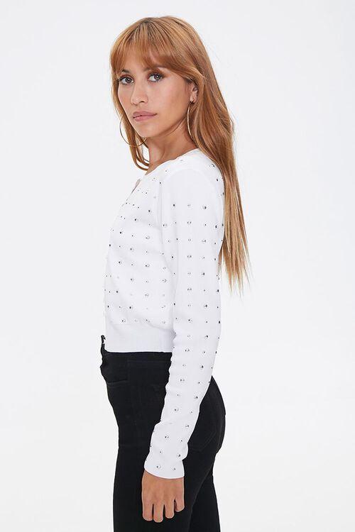 Studded Cardigan Sweater, image 2
