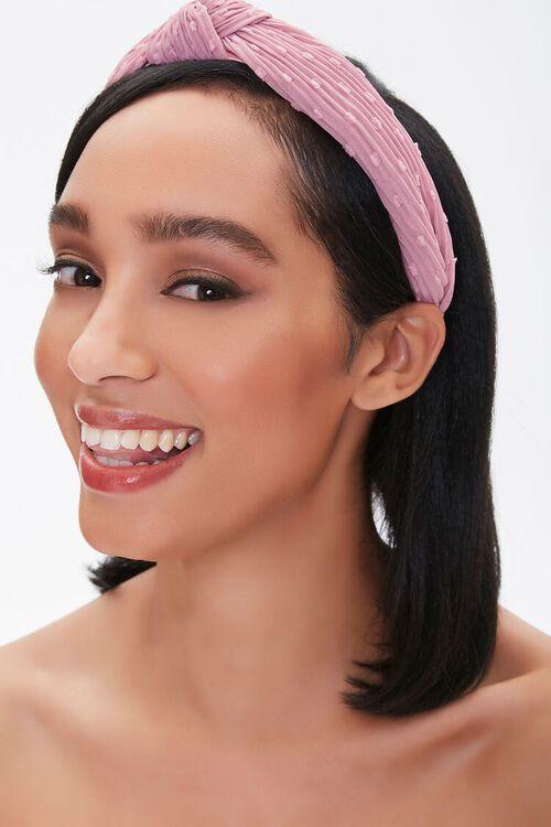 Crinkled Knotted Headband, image 1