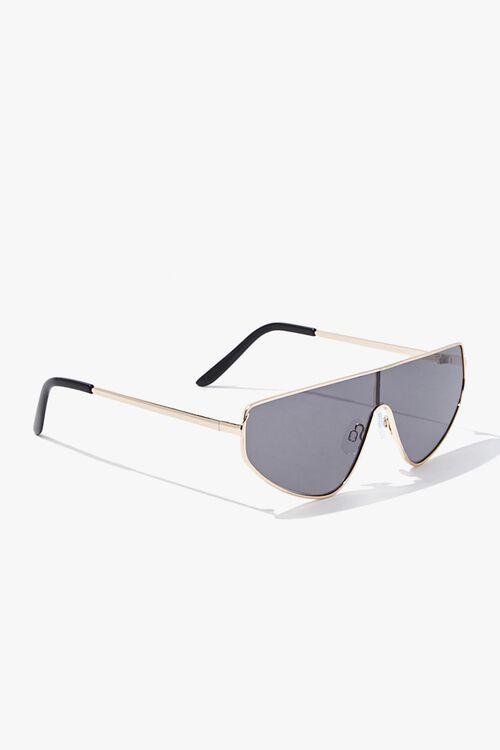 Premium Metal Shield Sunglasses, image 2