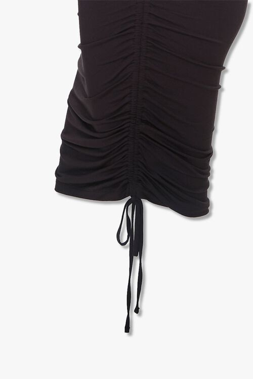 Plus Size Ruched T-Shirt Dress, image 3
