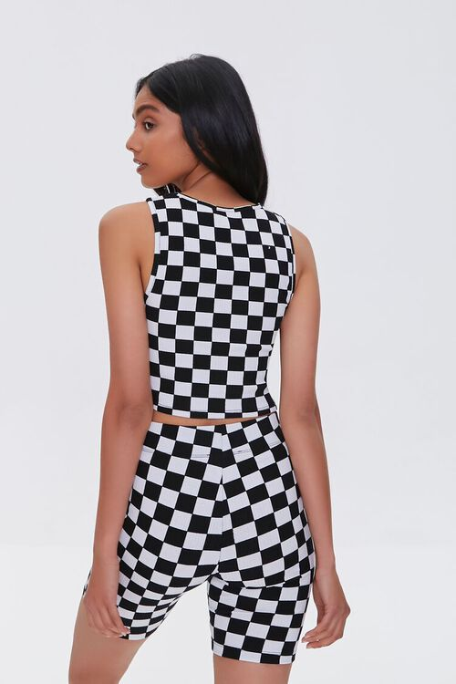 Checkered Crop Top, image 4