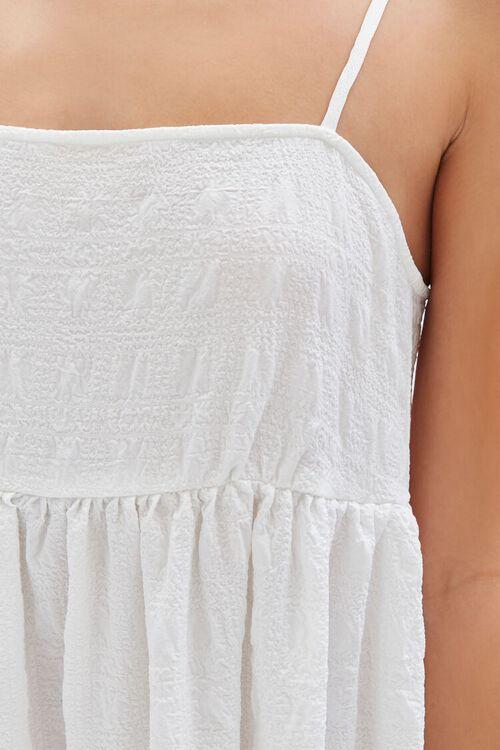 Textured Flounce Cami Dress, image 6