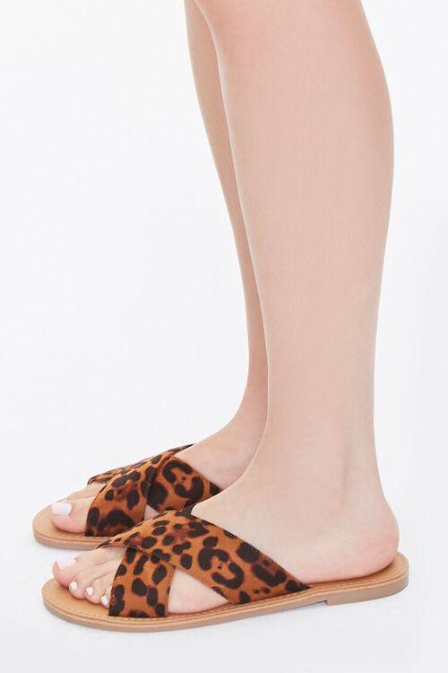 Leopard Crisscross Sandals, image 2