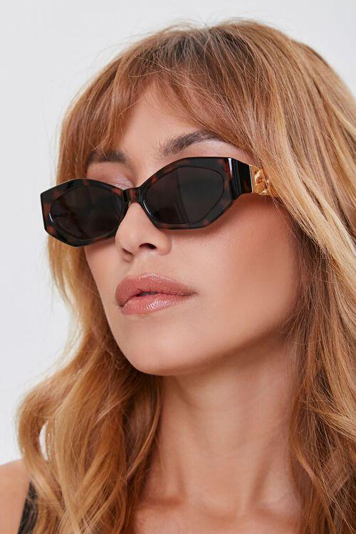 Geo Chain-Arm Sunglasses, image 2