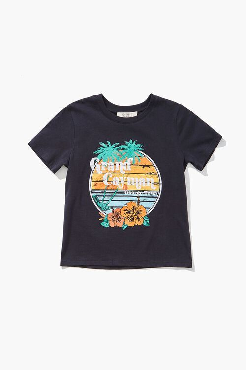 Girls Grand Cayman Graphic Tee (Kids), image 1