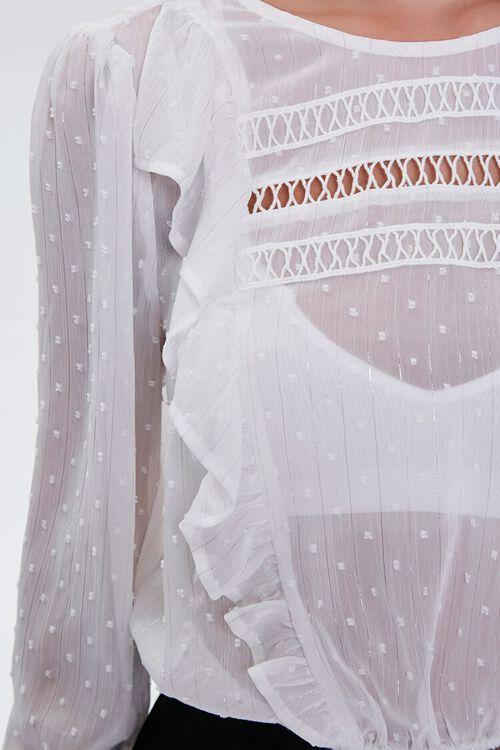 Clip Dot Crochet-Trim Top, image 5