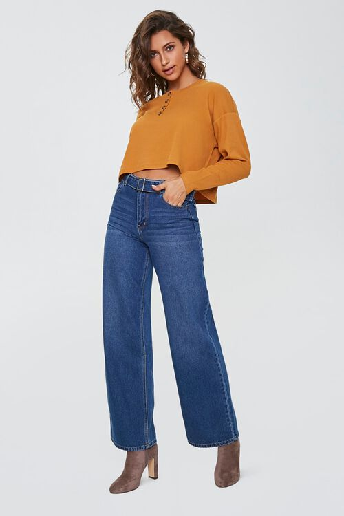 Cropped Henley Top, image 4