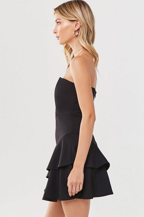 Flounce Hem Mini Dress, image 2