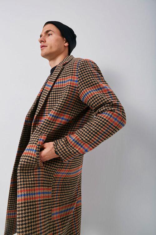 Glen Plaid Trench Coat, image 1