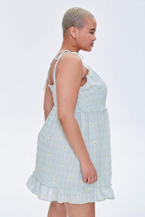Plus Size Floral Mini Dress, image 2