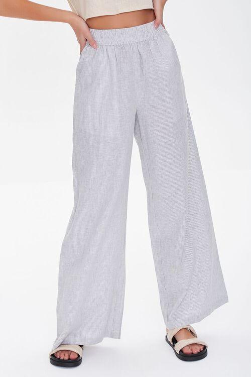 Wide-Leg Linen Pants, image 2