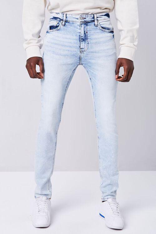 Premium Paint Splatter Skinny Jeans, image 2
