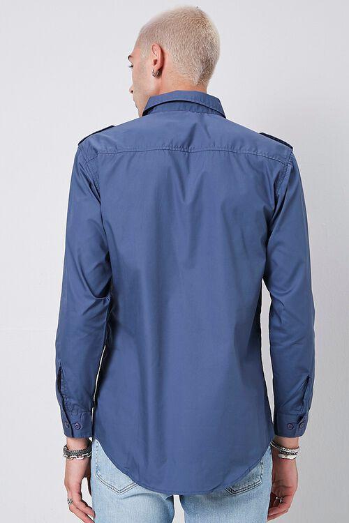 Epaulet Flap Pocket Shirt, image 3