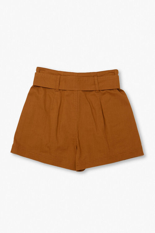 High-Rise Tie-Waist Shorts, image 2