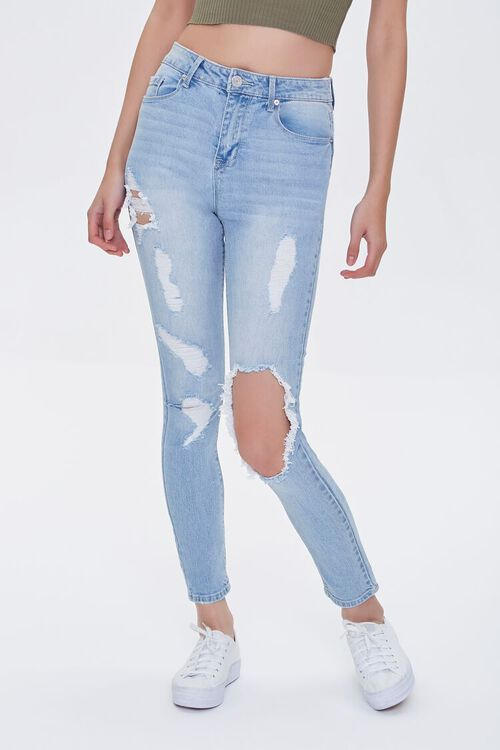 Recycled High-Rise Skinny Jeans, image 1