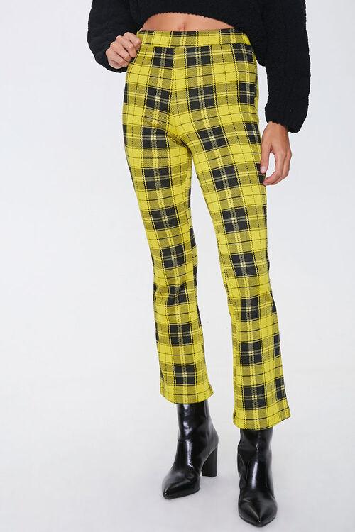 Plaid Flare Pants, image 2